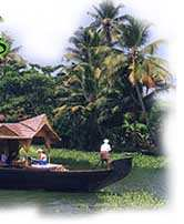 Stay in backwaters on house boat of kerala