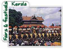 Thrisur Pooram, This festival held at Thekinkadu Maidan at Thrissur in the month of May